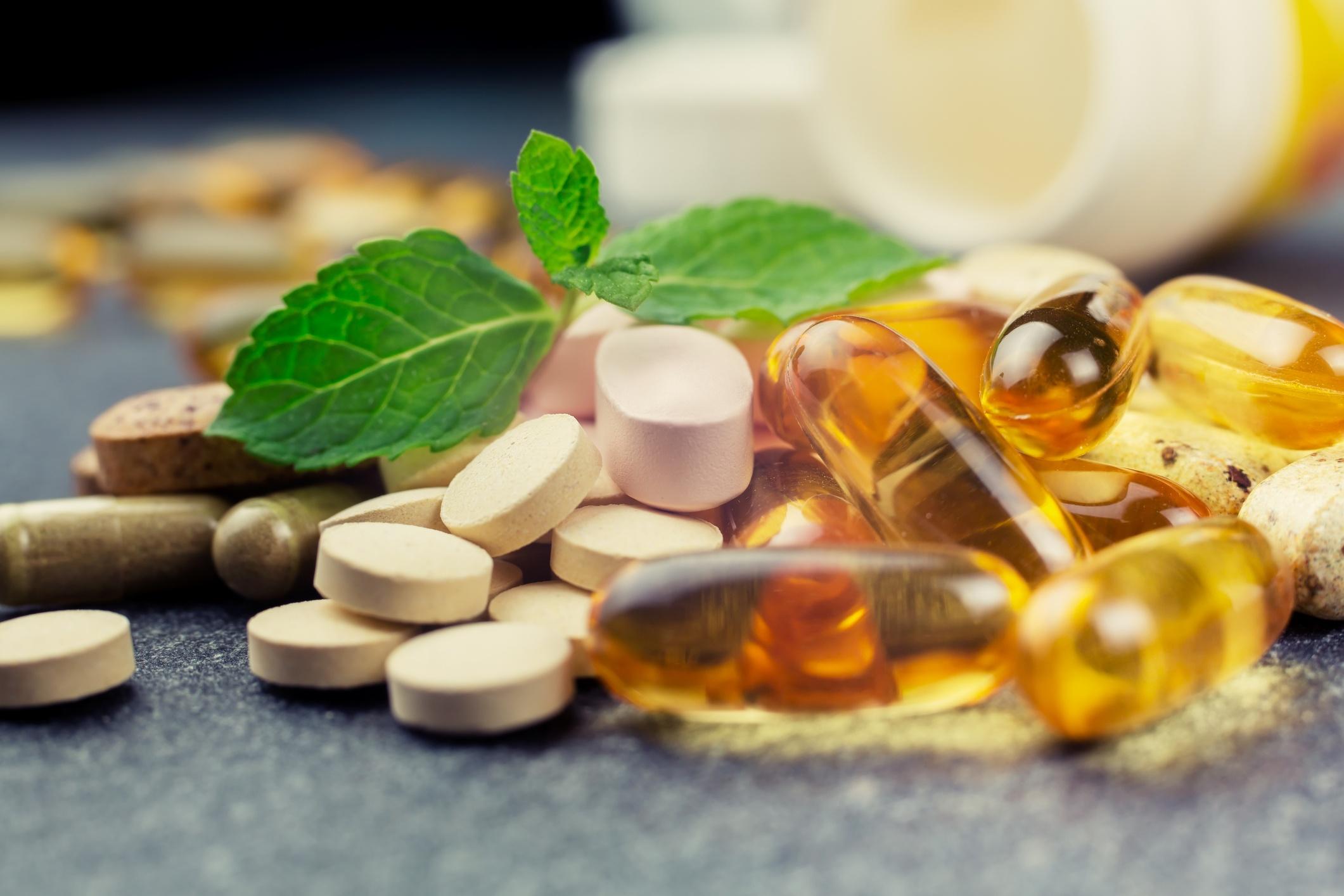 Supplements herbs pills